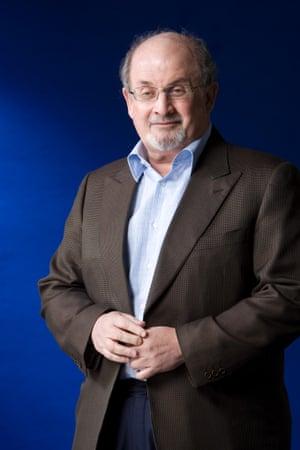 The writer Salman Rushdie