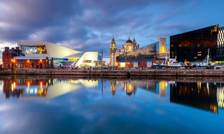 Liverpool's revitalised docks