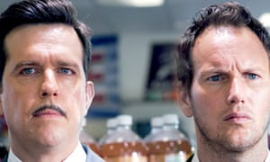 Ed Helms and Patrick Wilson in Stretch
