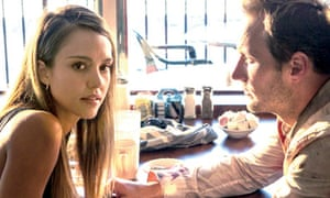 Jessica Alba and Patrick Wilson in Stretch