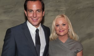 Will Arnett with Parks and Recreation star Amy Poehler