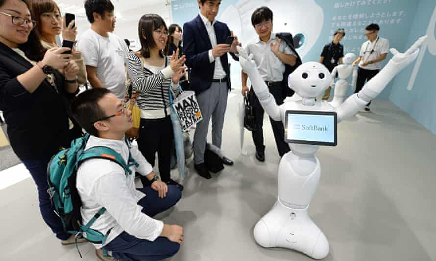 A humanoid robot in Japan … since SF ideas influence the real world, is it important for those ideas