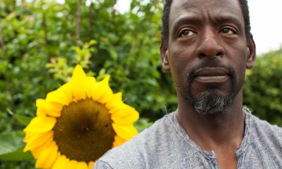 Los Angeles guerrilla gardener Ron Finley