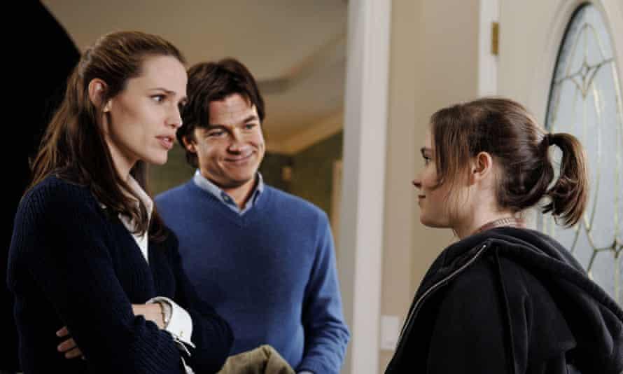 Bateman in Juno with Jennifer Garner and Ellen Page (2007).