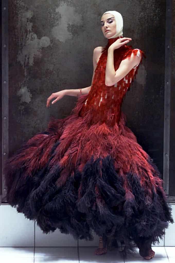 McQueen dress, Savage Beauty