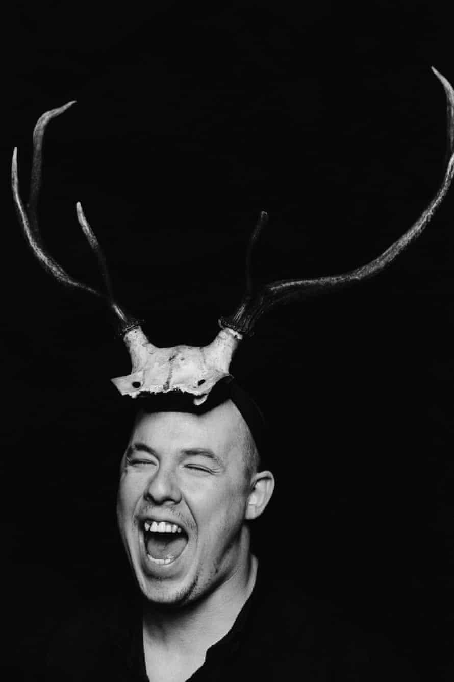 Portrait of Alexander McQueen