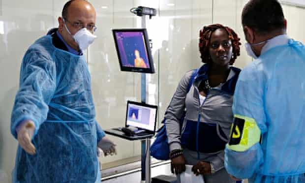 Ebola screening in Morocco