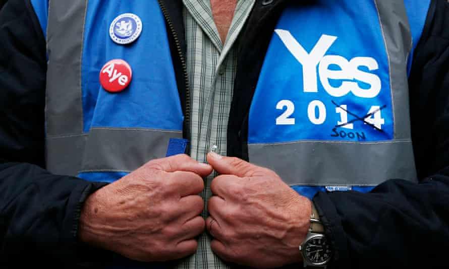 Scottish yes voter