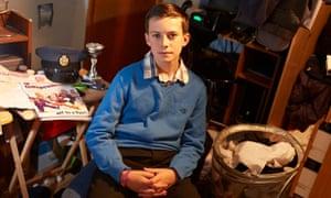 Jonathan Wood, 14, who campaigns for Ukip