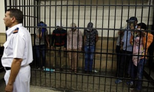 Eight Egyptian men convicted following appearance in a video of an alleged same-sex wedding party