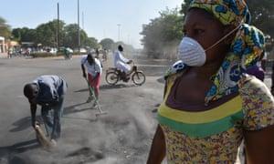 Burkina Faso cleanup