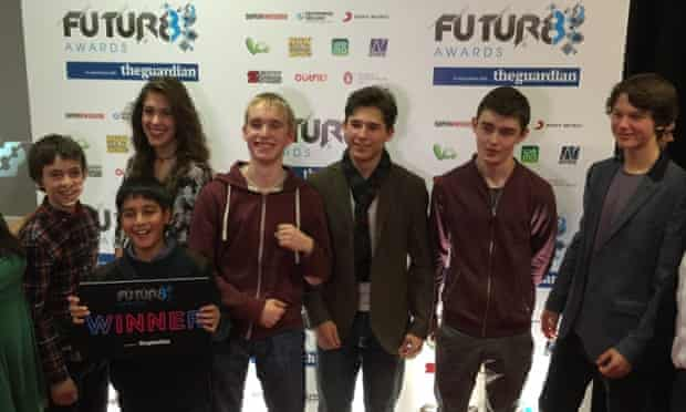 Seven of the eight Future8 awards winners.