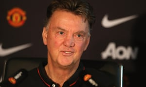 Manchester United's manager, Louis van Gaal, believes it will take City a long time to match their a