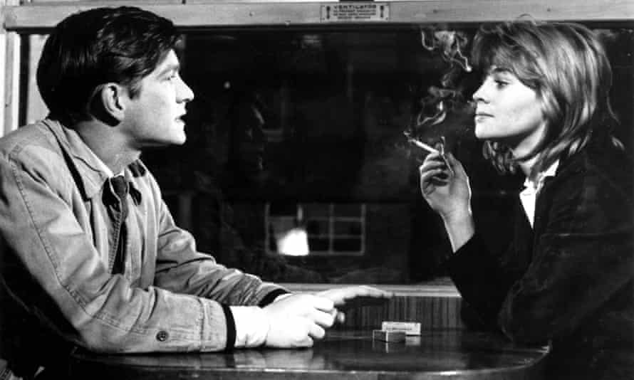 Way out ... Tom Courtenay and Julie Christie in Billy Liar