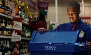 Tesco's Christmas ad. Photo: Tesco/PA