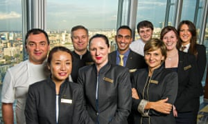 High achievers … Hotel In The Clouds. Photograph: Mark Yeoman/ITV