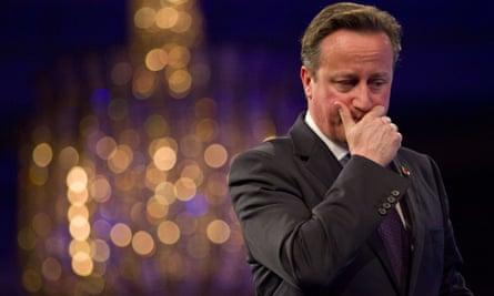 David Cameron addresses the CBI