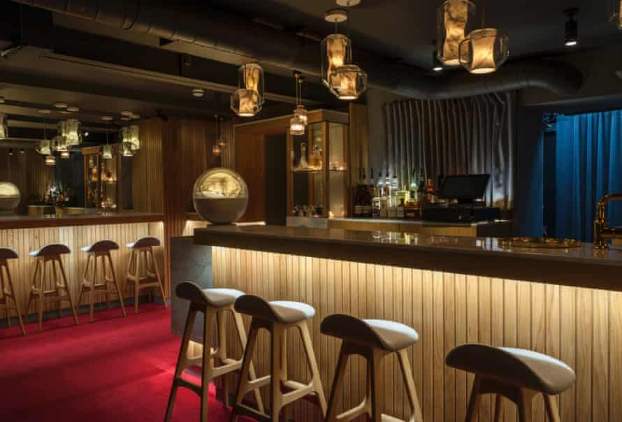 Broom's latest project, the interiors at new restaurant and bar Old Tom & English