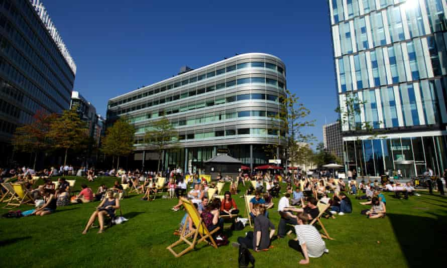 Part of the £1.5bn Spinningfields quarter in Manchester