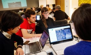 Missing Maps event at the Guardian