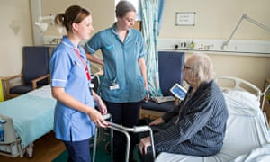 Nottinghamshire Healthcare NHS Trust help elderly patients be cared for at home when safe to do so.