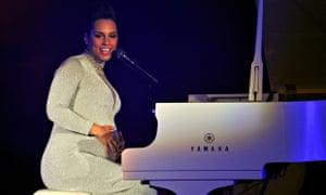 Alicia Keys plays live in Glasgow