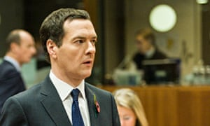 George Osborne and finance ministers meet in Brussels to discuss EU budget