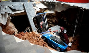 National Corvette Museum >> Us National Corvette Museum To Start Filling In Sinkhole