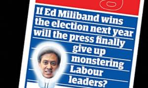 Ed Miliband Greenslade piece.