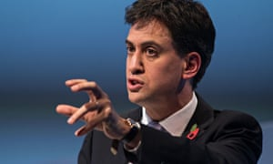 Ed Miliband at the 2014 CBI conference