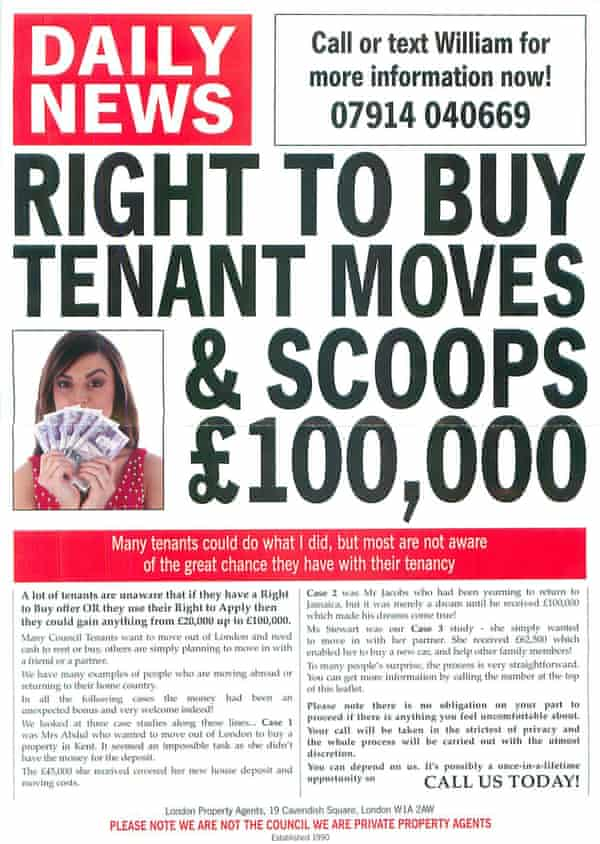 Buy-to-let flyer