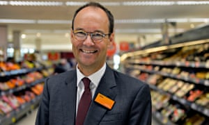 chief executive of Sainsbury's, Mike Coupe