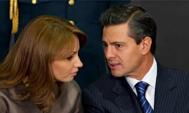 Angelica Rivera, Enrique Pena Nieto