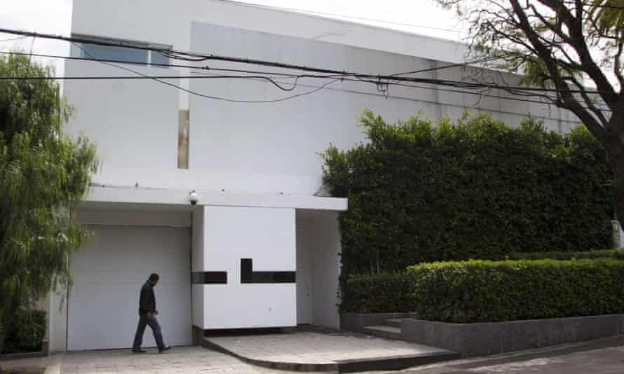The mansion at the centre of the political spat borders property already owned by Angelica Rivera, the wife of the Mexican president.