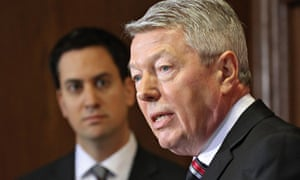 Ed Miliband Alan Johnson