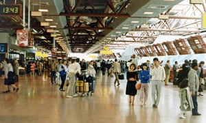 Heathrow airport's Terminal 4, which opened in 1986.