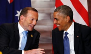 Tony Abbott and Barack Obama