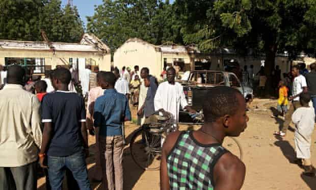 Bomb blast at Nigerian school