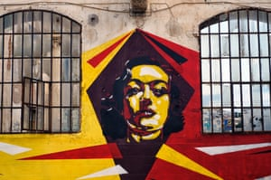 Much of the talented graffiti art is celebrated for adding colour to the streets of Athens