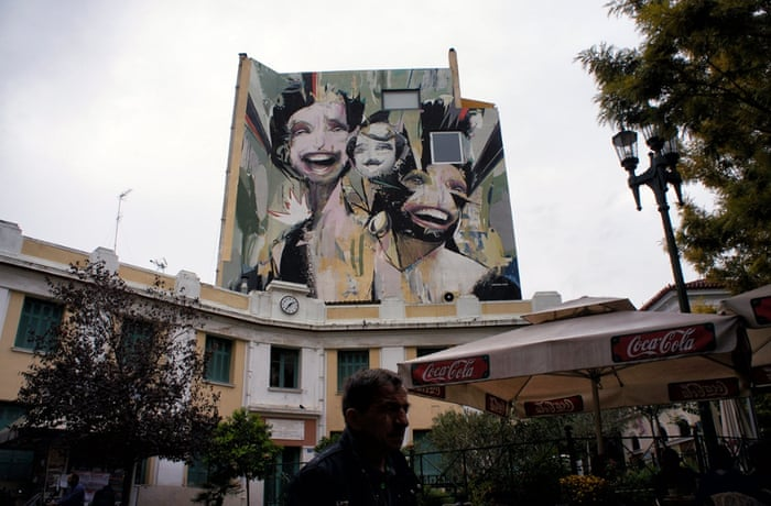 Some of the contemporary graffiti works are complex in both size and scale