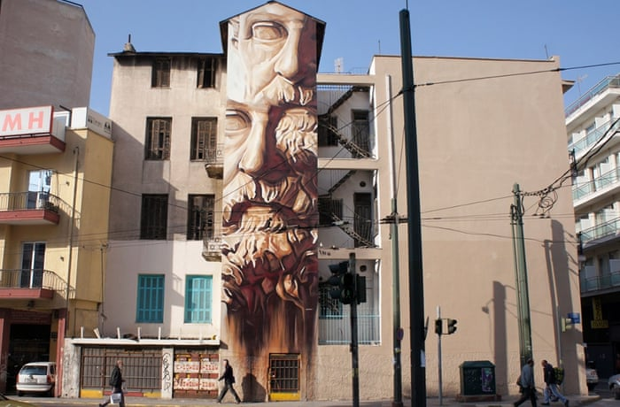 A new portrait of Plato, a man famed for his views on the state, who warned that cities 'will have no rest from evils' until political power and philosophy coincide