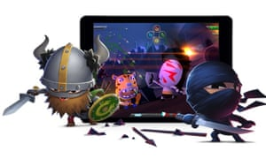 Mind Candy's World of Warriors has made a strong start on iOS.