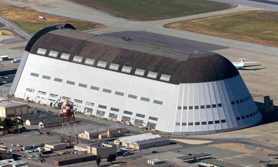 hangar one moffett airfield