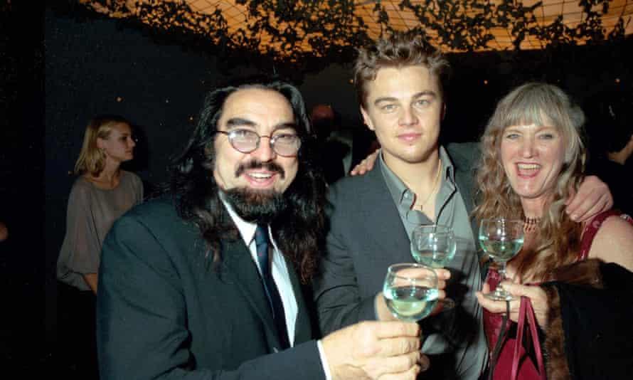 Leonardo DiCaprio and his parents