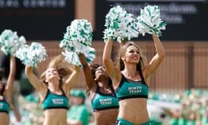 Cheerleaders in North Texas