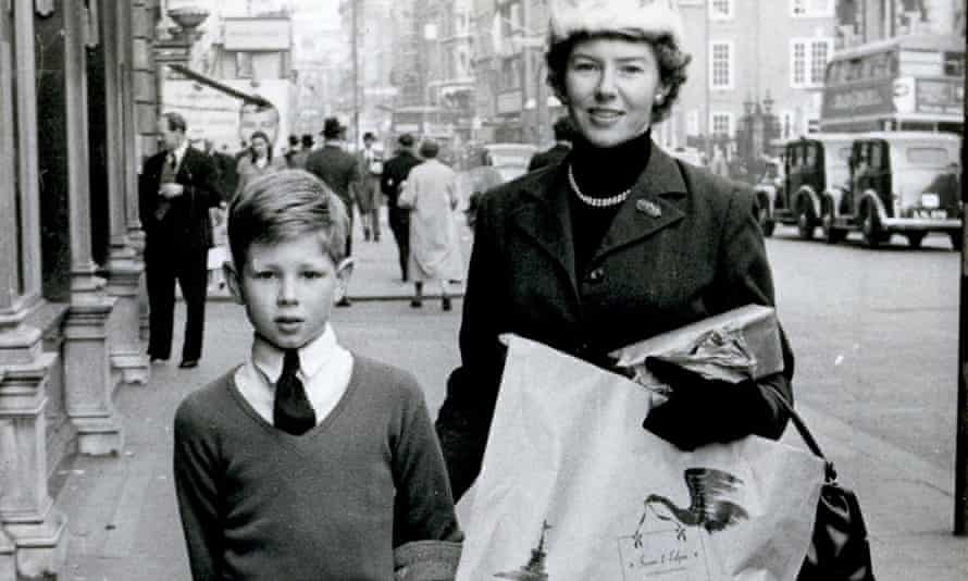 Nick Drake with his mother Molly