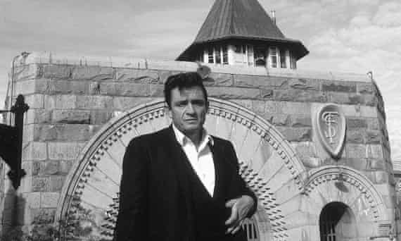 Country singer Johnny Cash