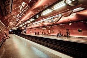 Arts et Metiers station in Paris, France.