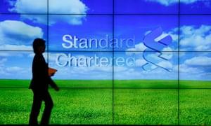 A Standard Chartered bank in Hong Kong