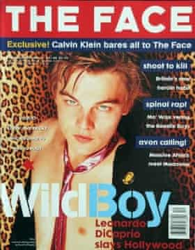 Leonardo diCaprio on the cover of the Face in 1995.